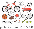 sport equipment collection 28079289