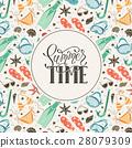 beach accessories  pattern 28079309