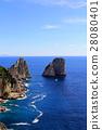 capri, capri island, sunken rocks 28080401