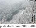 severe winter, mount yoshino, snow scene 28080404