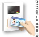 Entry card reader @ office security 28081883