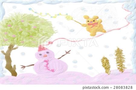 Warm winter day 28083828