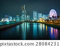 2015 Minato Mirai night view night 28084231