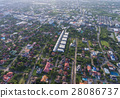 Residential area aerial view 28086737