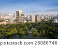 Bangkok skyline at central business district 28086746