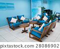 Blue shade living room 28086902