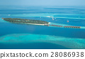 Tropical islands and atolls in Maldives 28086938