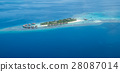 Tropical islands and atolls in Maldives 28087014