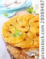 Dessert tea, pineapple pie and white tea service 28089487