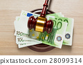 banknote, bill, euro 28099314