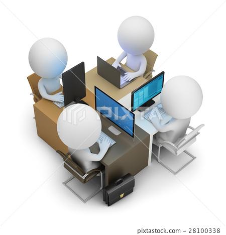 3d small people - development team 28100338