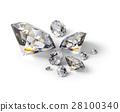 diamond, jewel, stone 28100340