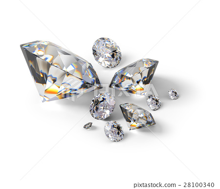isometric diamonds 28100340
