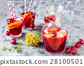 summer cool alcoholic drink sangria 28100501
