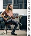 musician, guitarist, instrument 28102524