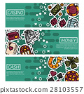 banner, casino, gambling 28103557