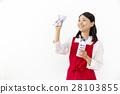 圍裙 女人 女性 28103855