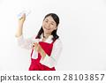 圍裙 女人 女性 28103857