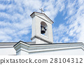 Small bell tower with a bell  28104312