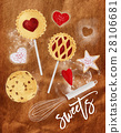 Poster sweets craft 28106681