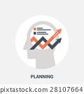 mind plan icon 28107664