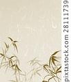 수화 무늬 대나무 종이 28111739