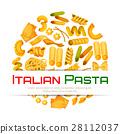 pasta, poster, menu 28112037