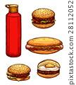 快餐 速食 食物 28112052