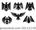 eagle, heraldic, icon 28112118