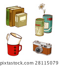 sundries, stylish, illustration 28115079
