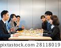นักธุรกิจ (มื้ออาหาร) 28118019