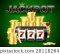 Slot machine lucky seven golden coins jackpot  28118264