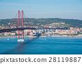 里斯本 懸索橋 吊橋 28119887