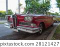 古巴的美國汽車 28121427