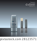 set of containers for cosmetics. 28123571