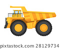 采矿 卡车 抠图 28129734