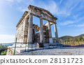 ruins of Mausoleum in ancient Messina, Greece 28131723