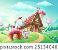 candy, house, sweet 28134048