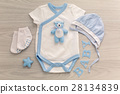 infant bodysuit with matching hat and socks 28134839