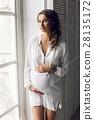 女性 女 懷孕 28135172