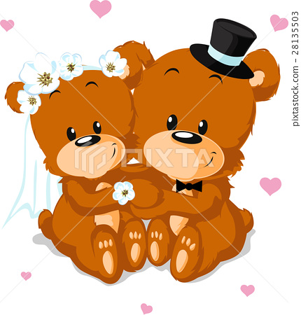 bear wedding 28135503