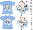 孩子 可愛 襯衫 28135585