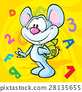 cute mouse school 28135655