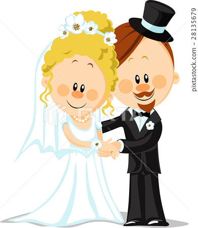 bride and groom 28135679