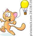 貓 貓咪 鼠標 28136720