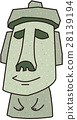 Moai雕像 28139194