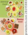 food, dish, vector 28145683