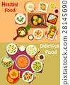 food, dish, vector 28145690