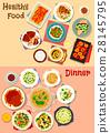 food, menu, vector 28145795