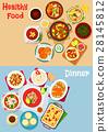 food, menu, vector 28145812